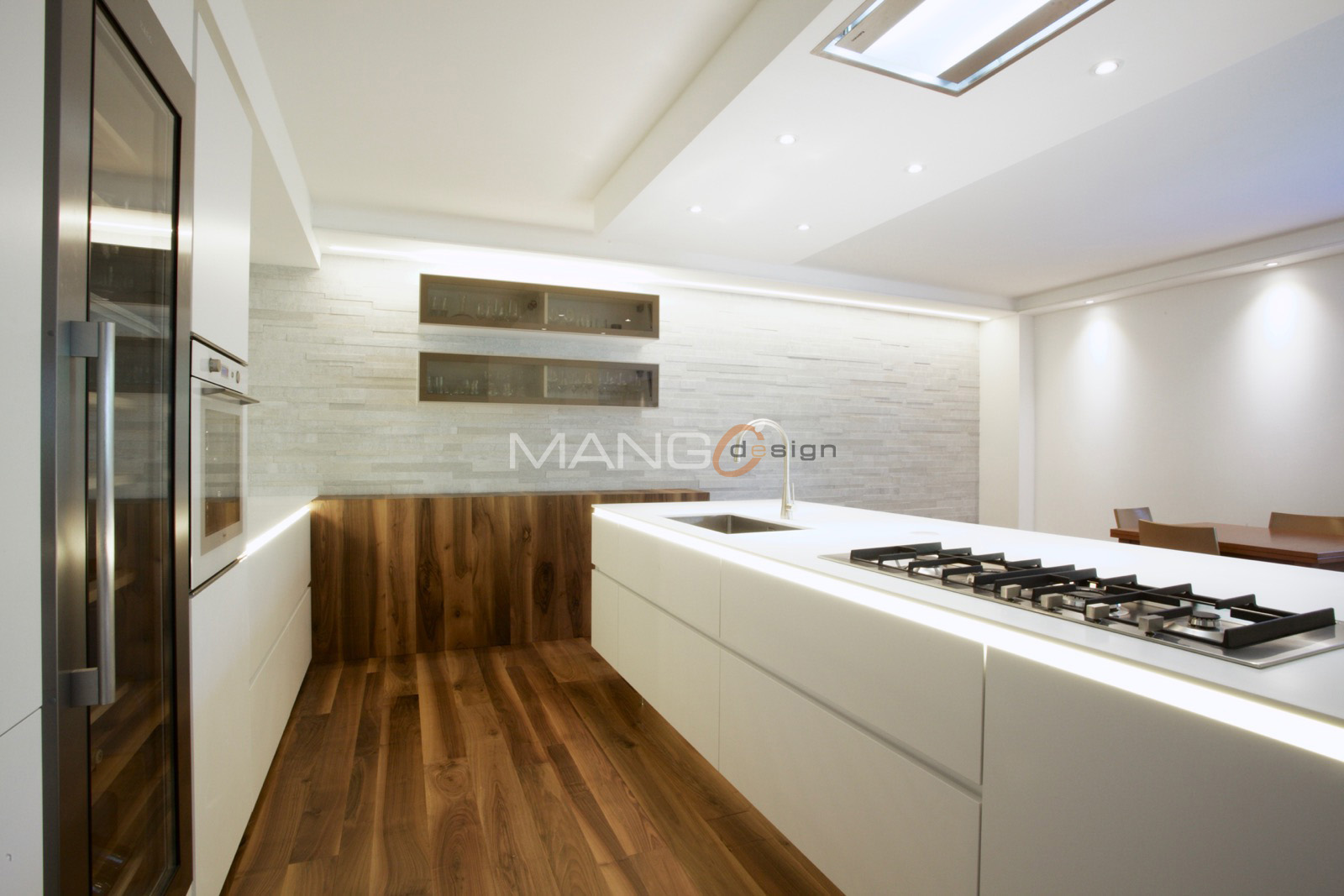 Cucine in corian cool oak and corian kitchen todeschini for Cucine in legno in offerta